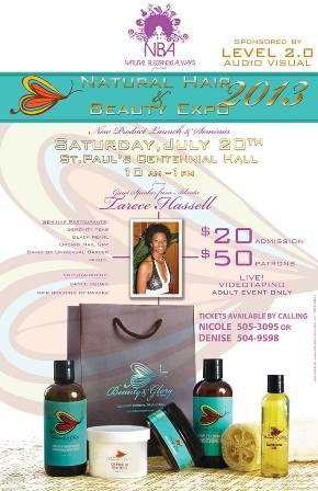 july 17th expo natural beauty hair bermuda