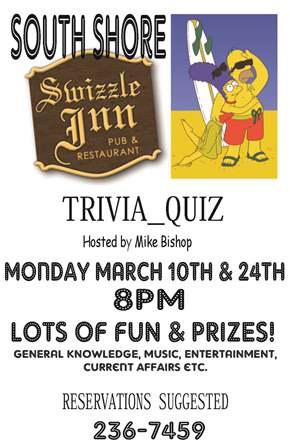 0310 Swizzle Trivia Quiz - Bermuda Events