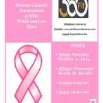 1011 360 Fit 2 Mile Breast Cancer Walk or Run