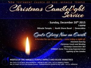 1220 Christmas Candlelight Service