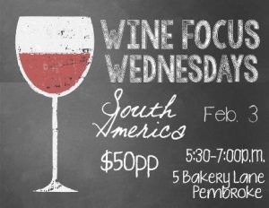 0203 Wine Focus Wednesdays South America
