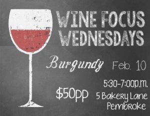 0210 Wine Focus Wednesdays Burgundy