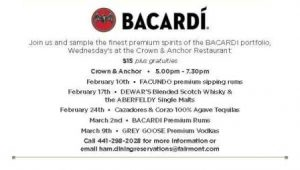0210 Bacardi Tasting
