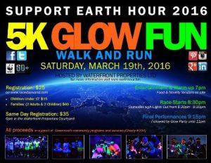 0319 Earth Hour 5K Glow Fun Walk and Run