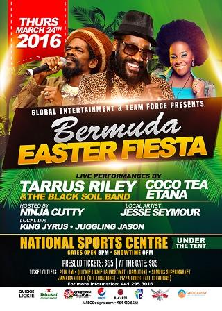 March 9th 2016 Bermuda Events Update Bermuda Events