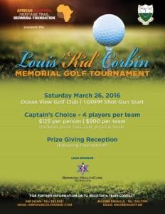 0326 Louis Kid Corbin Memorial Golf Tournament