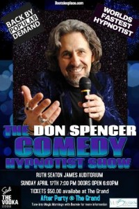 0417 Don Spencer Comedy Hypnotist Show
