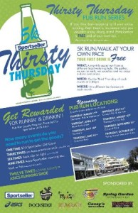 0421 Thirsty Thursday 5K Pub Run