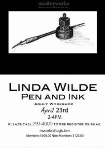 0423 Linda Wilde Pen and Ink Workshop