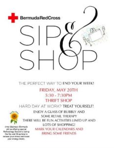 0520 Sip and Shop at Bermuda Red Cross
