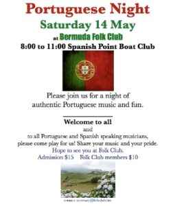 0514 Portuguese Night at Bermuda Folk Club