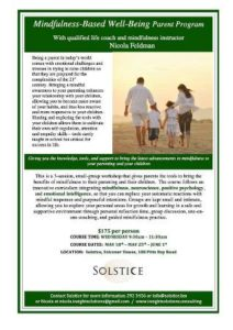 0518 Mindfulness Based Wellness Parent Program