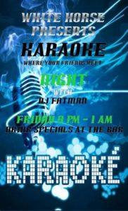 0520 Karaoke at White Horse