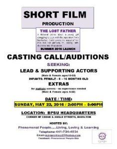 0522 Casting Call