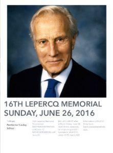 0626 Lepercq Memorial