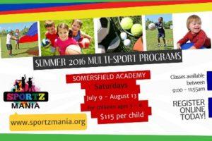 0709 Sportz Mania's Summer Multi Sport Programs