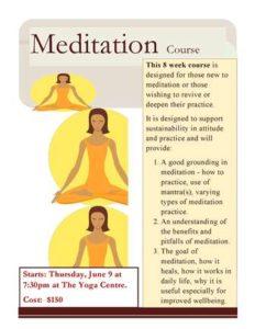 0609 Meditation Course