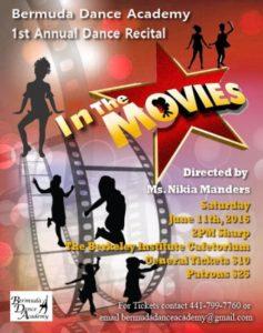 0611 Bermuda Dance Academy Recital In The Movies