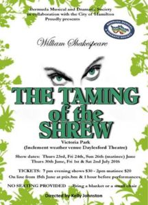0623 BMDS Taming of the Shrew