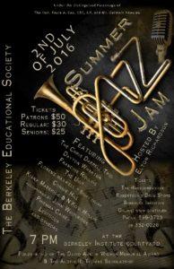 0702 Summer Jazz Jam