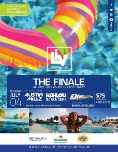 0704 LIV Bermuda July 4th Pool Party