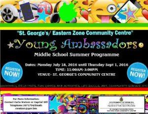 0718 Young Ambassadors Summer Programme