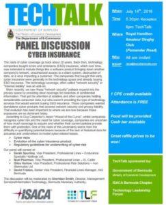 0714 TechTalk on Cyber Insurance