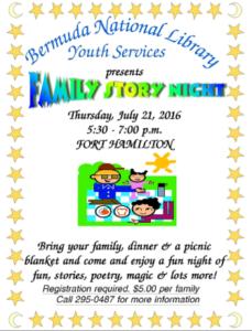 0721 Family Story Night