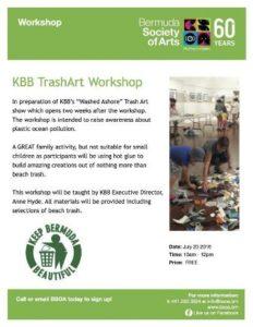 0723 KBB Trash Art Workshop