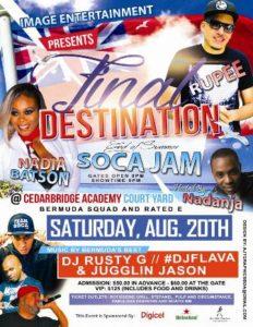 0820 Final Destination End of Summer Soca Jam