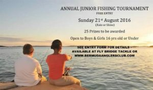 0821 Bermuda Anglers Club Junior Fishing Tournament