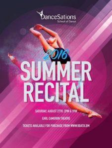0827 DanceSations Summer Dance Recital