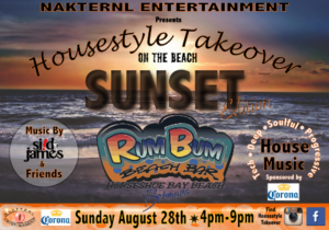 0828 Housestyle Takeover on the Beach