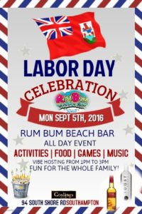 0905 Rum Bum Labour Day Party