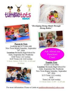 0910 Tumble Tots Bermuda Fall Term