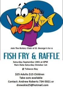 0924 St George Rotary Club Fish Fry and Raffle