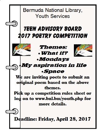 All clear, poetry competition for teen good